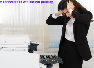 Brother printer connected to wifi but not printing