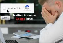 Traffico Anomalo Google